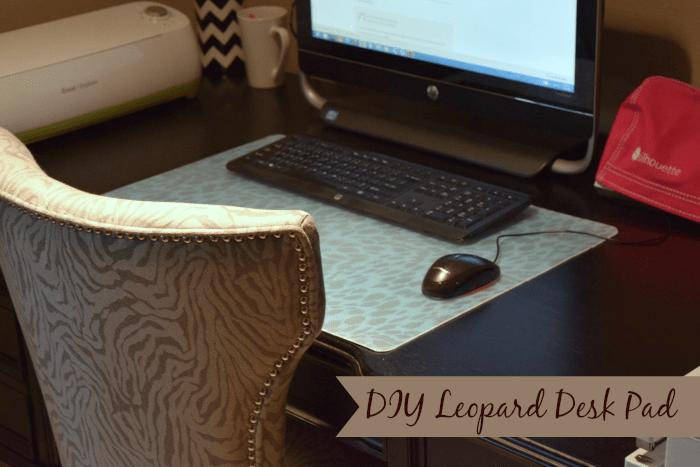 50 Crafts To Make and Sell - Easy DIY Ideas for Cheap Things To Sell on Etsy, Online and for Craft Fairs. Make Money with These Homemade Crafts for Teens, Kids, Christmas, Summer, Mother's Day Gifts. | DIY Leopard Desk Pad #crafts #diy