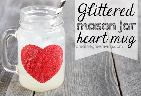 50 Crafts To Make and Sell - Easy DIY Ideas for Cheap Things To Sell on Etsy, Online and for Craft Fairs. Make Money with These Homemade Crafts for Teens, Kids, Christmas, Summer, Mother's Day Gifts. | Dishwasher Safe Glittered Heart Mugs #crafts #diy