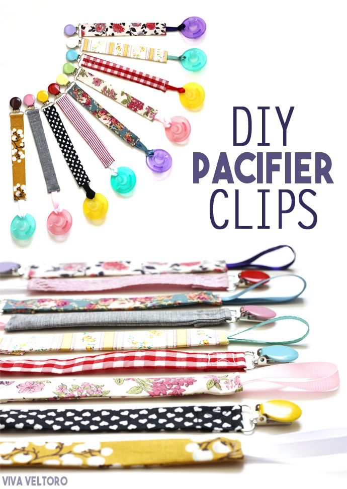 50 Crafts To Make and Sell - Easy DIY Ideas for Cheap Things To Sell on Etsy, Online and for Craft Fairs. Make Money with These Homemade Crafts for Teens, Kids, Christmas, Summer, Mother's Day Gifts. | DIY Pacifier Clips #crafts #diy