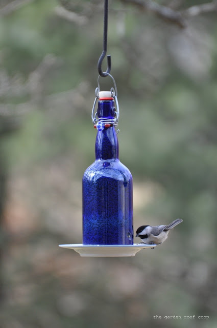 50 Crafts To Make and Sell - Easy DIY Ideas for Cheap Things To Sell on Etsy, Online and for Craft Fairs. Make Money with These Homemade Crafts for Teens, Kids, Christmas, Summer, Mother's Day Gifts. | Wine Bottle Bird Feeder #crafts #diy